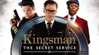 Netflix Box Art for Kingsman: The Secret Service